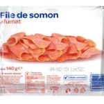Bacteria Listeria monocytogenes evidentiata in fileul de somon afumat comercializat de Carrefour