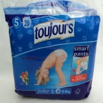 Toujours diapers in an FSC approach