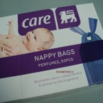 Care scented nappy bags