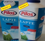 Lidl changes the supplier of Pilos fresh milk for the third time