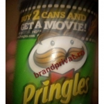 Pringles, Buy 2 cans and get a movie